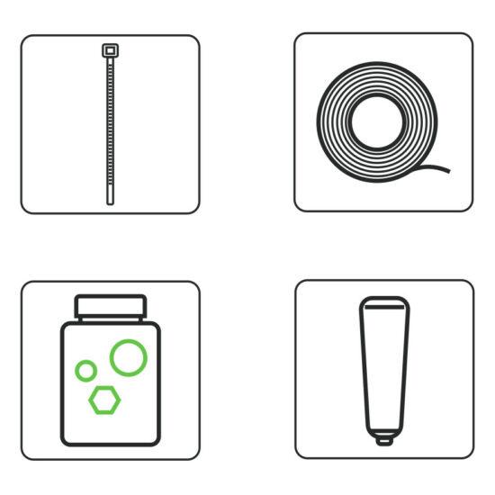 Fridge Grow Kit Zubehör Produktfoto